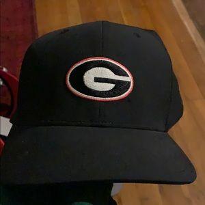 Black UGA Nike Georgia Nike hat cap golf